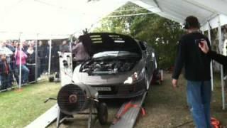 Toyota Supra Top Secret replica Dyno Run