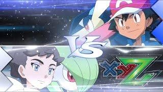 Pokemon XY&Z capitulo 25 | Ash VS Diantha Sub español