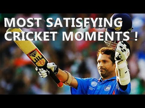 Most Satisfying Cricket Moments Best Batting Bowling And Fielding Moments