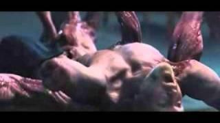 The Thing (2011) - Split Face Scene