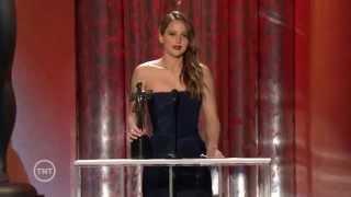Jennifer Lawrence wins