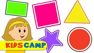 Learn Shapes With Elly and help her Find them! | Finger Family And More by KidsCamp