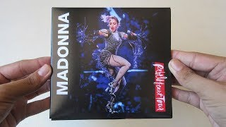 Madonna - Rebel Heart Tour ( CD + DVD ) - Unboxing CD en Español