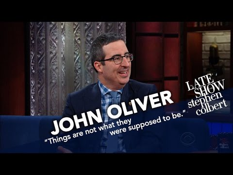 John Oliver Doesn t Think He ll Get Deported But He s Being Cautious