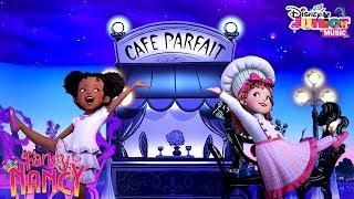 Café Parfait Music Video | Fancy Nancy | Disney Junior