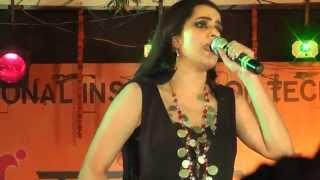 Aaja Ve , Rupaiya , Jiya Lage Na and Ambarsariya   Sona Mohapatra live performance at NIT Agartala