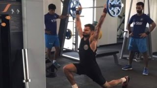 Cricketers Workout In Gym Compilation 2016 • Virat Kohli Yuvraj Singh Shoib Akhtar