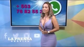 Tetotas y Culazo de la presentadora Elena Villatoro