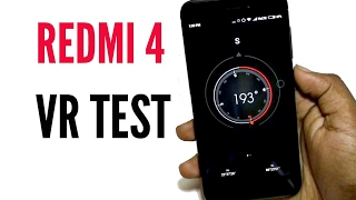 Redmi 4 VR Support Test in hindi