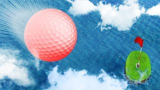 HOLE IN ONE FROM HEAVEN!? (Golf It Funny Moments)
