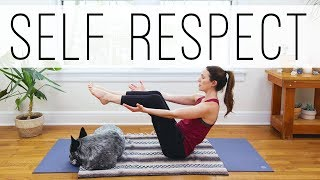 Yoga For Self Respect     20 Minute Practice    Yoga With Adriene