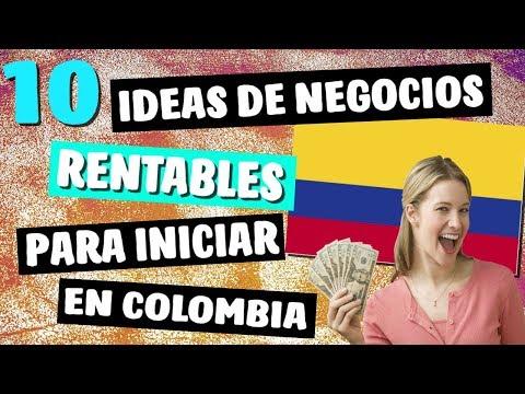 💡 10 Ideas de NEGOCIOS MAS Rentables en COLOMBIA este 2019