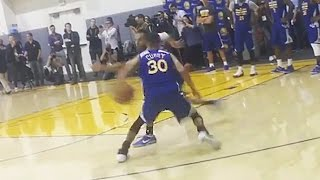 Steph Curry Breaks Out INSANE New Behind-The-Back Move