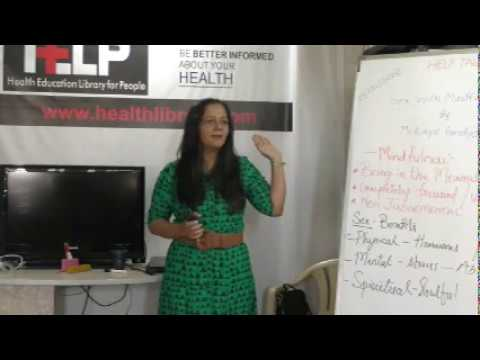 Xxx Mp4 Sex With Mindfulness By Mrs Kinjal Pandya On Health HELP Talks 3gp Sex