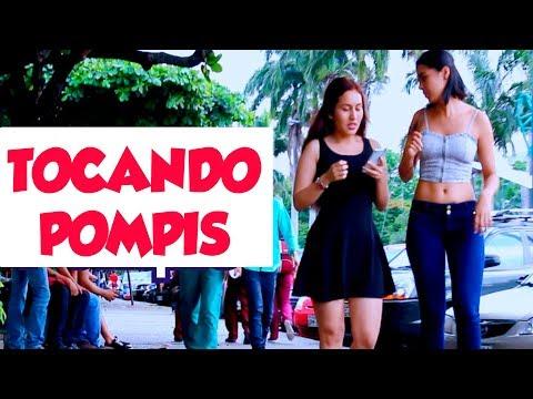 TOCANDO POMPIS A CHICAS EN LA CALLE|Nalgadas|Bromas pesadas|ShowVlogTV