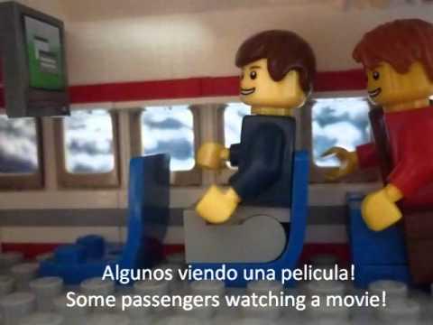 A LEGO FLIGHT UN VUELO EN LEGO