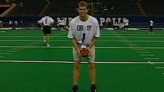 Tom Brady 2000 NFL Scouting Combine highlights