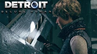 STAYING IN AN ABANDONED PARK..WHAT COULD GO WRONG?! | Detroit: Become Human [8]