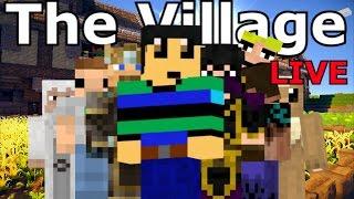 The VILLAGE LIVE - Minecraft MASSIVE Roleplay