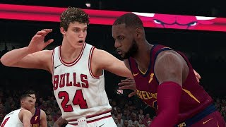 NBA Today March 17 - Cleveland Cavaliers vs Chicago Bulls Full Game NBA Highlights NBA 2K18