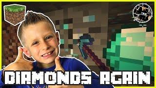 Mining Diamonds Again / Minecraft