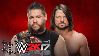 WWE Backlash: AJ Styles vs. Kevin Owens - United States Title Match — WWE 2K17 Match Sims