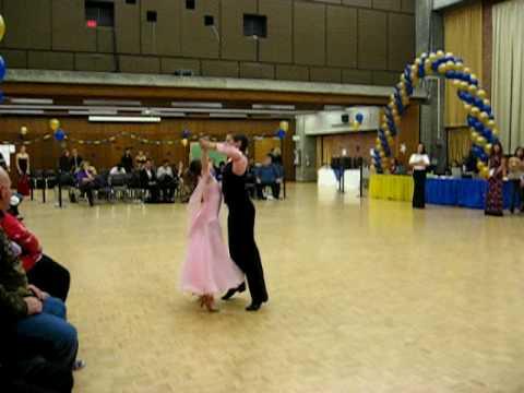 Waltz and Tango -  Nathaniel Tsiperfal and Sophia Brodsky