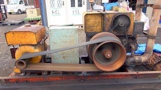 1960s? YANMAR Diesel Type 2H95 23hp [Old Engines in Japan]