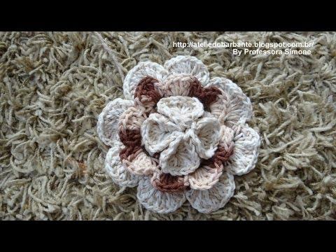 Flor Rainha em Crochê Parte 1