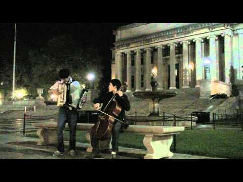 La Valse d Amelie for Accordion and Cello by Nathan Chan and Bob Lou