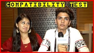 Exclusive | Arishfa Khan And Arhan Khan ( Lucky Dancer ) Playing Compatibility Test  With Tellybytes