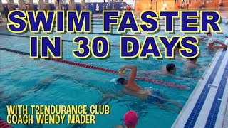 Swim Form Coaching for Ebru with Wendy Mader