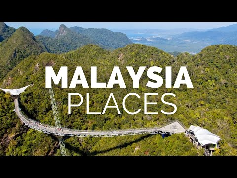 10 Best Places to Visit in Malaysia Travel Video