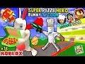 Download Video Download ROBLOX Super Pizza Hero Easter Bunny Tycoon! FGTEEV #18 Superhero Eggs w/ Hulkbuster 3GP MP4 FLV