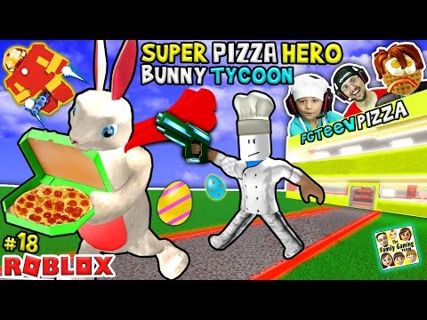 Xxx Mp4 ROBLOX Super Pizza Hero Easter Bunny Tycoon FGTEEV 18 Superhero Eggs W Hulkbuster 3gp Sex