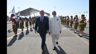 PM Modi arrives to a warm welcome in Jerusalem, Israel, 04.07.2017