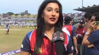 Bengali Actress Sayantika Banerjee Special 121 in Celebrity Cricket League