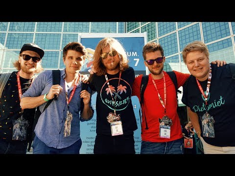 MIT YOUTUBERN AUF DER GAMING MESSE 🌎 Los Angeles (USA)