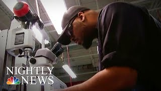 Job Market Skills Gap Leaving Millions Of U.S. Jobs Unfilled | NBC Nightly News