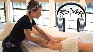 ASMR Legs Massage, Christen #2, Relaxing Massage Therapy Techniques