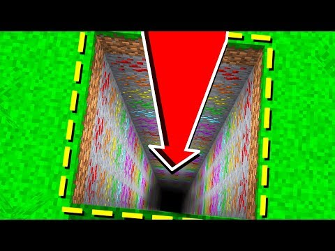 DO NOT DIG STRAIGHT DOWN in MINECRAFT PE