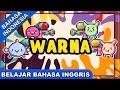 Download Video Lagu Belajar Bahasa Inggris | Warna (Colours)| Lagu Anak Anak Terpopuler 2017 Bibitsku 3GP MP4 FLV