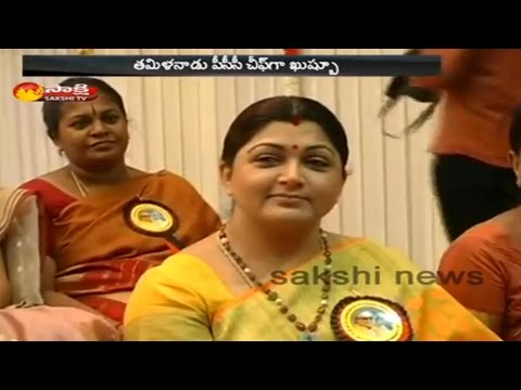 Actress Kushboo likely to be Appointed as Tamil Nadu PCC Chief