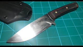 Making A Hunting Knife (Free Template Download)