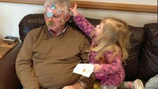 Guess who  is MORE CRAZY, KIDS or GRANDPARENTS ? The funniest video you ever seen!