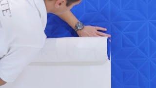 How to hang 3D wallpaper