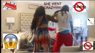 CHEATING PRANK ON GIRLFRIEND (GONE WRONG)