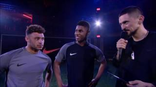 Nike Football StrikeNight - Semi Final - Rashford vs The Ox - part 7/9
