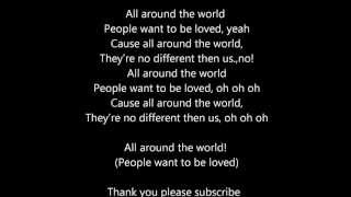 Justin bieber ft ludacris all around the world lyrics