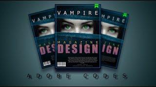 Create a Stunning Magazine Cover in Photoshop | Adobe Codes | Bhavaniprasad Karrotu